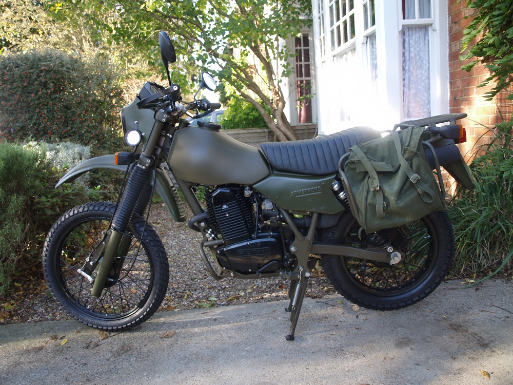 Armstrong MT500 - British Classic Motorcycles