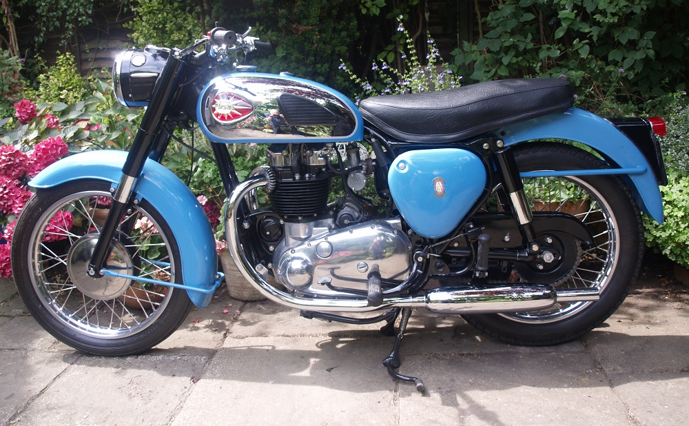 Triumph Classic Racing BSA Alloy Motorcycle Number Plate